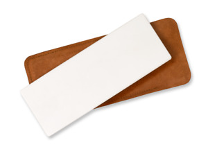 Spyderco Bench Stone Ultra-Fine Grit White Ceramic Knife Sharpener 306UF