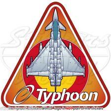 Eurofighter EF2000 TYPHOON Aeronautica Militare Spagnola SPAF Adesivi Sticker