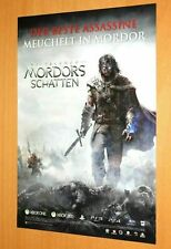Middle-earth Shadow of Mordor ps4 Promo mini póster consistente ad page