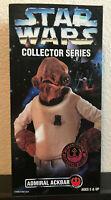 "Star Wars Collector Series Admiral Ackbar Rebel Alliance 12"" Figurine NIB"
