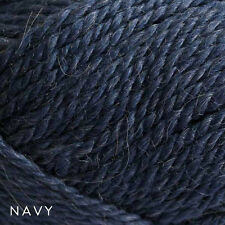 50g Balls - Patons Jet 12ply Wool-Alpaca - Navy #508 - $6.95 A Bargain