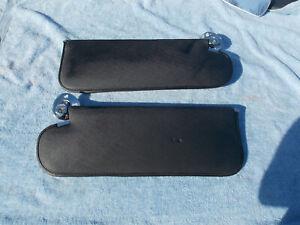 1965 1966 1967 Chevy Nova Sun Visors Black OEM