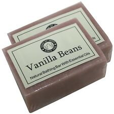 Vanille Seife Naturseife 2 x 125g Duftseife Glycerinseife soap Song of India