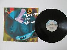 RAPINATON & KYM MAZELLE - LOVE ME THE RIGHT WAY -12in Ltd Edition Single -1992