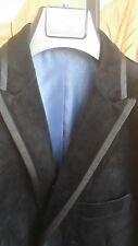 LONDON FOG Black Velvet Smoking Tuxedo SAMY JACKET Blazer 42 Short NWT$199