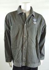 ROCAWEAR Men's Plus Size Gray Button Down Denim Jacket Size XXL (2XL)