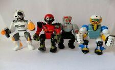 """Vintage Micro Machines Zbots Z-bots 2"""" Figuras Paquete de 4 Lgti 1992"""