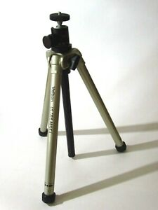 Velbon Ultra Max I compact 5 section travel tripod with Giotto monoball head.