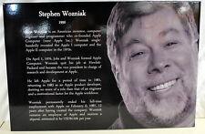 "20""X30"" Computer Museum Graphic  Panel of WOZ Steve Wosniak Ships Worldwide"
