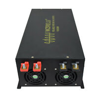 10KW Pure Sine Wave Power Inverter 60/72V to 120/220V DC to AC Convert Car Home