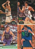 Lot of 4 different Christian Laettner basketball Cards Timberwolves