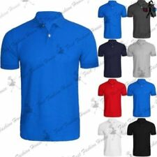 Camisetas de hombre de manga corta sin marca de poliéster