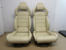 04 Lamborghini Murcielago #1025 Front Ivory Leather Seats