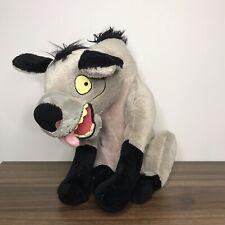 "Disney Store Exclusive ED 'LION KING' HYENA Soft Plush Toy Stamped (RARE) - 14"""