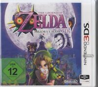 The Legend of Zelda - Majora's Mask 3D für Nintendo 3DS Neu & OVP DE Version