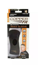 """Copper Fit Original Recovery Knee Sleeve, Black with Copper Trim X-Large 19""""-21"""""""