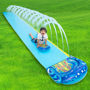 Joyin 19.2Ft X 35.5In Slip And Slide Water Slide With 1 Bodyboard, Summer Toy Wi