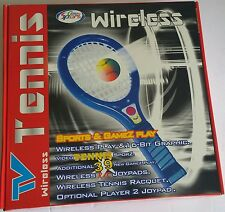 NEW Wireless Tennis Game System With 39  Games  Plug N Play Just Connect to TV
