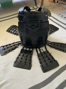 Antique Japanese samurai armor Chest Plate, Original Antique Armour.