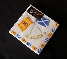 Scottish Flags 3 ply paper 33cm napkins Pack of 20 AP2124 Burns Night Party