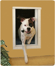 Plexidor Premium Wall Mounted Silver Pet Doors in 4 Sizes