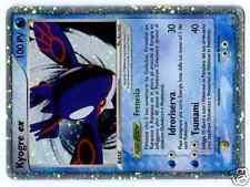 Promo Pokemon Nintendo N°037 Kyogre Ex Holo Italian
