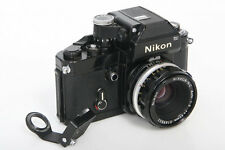Nikon F2 Black Camera Body With Nikkor-HC 50mm f2 Lens Non AI Mount