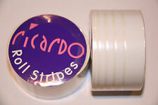 Stripes 38mm Multi White  Coachline Tape Pin Stripe 10 metres  UK Seller