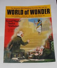 WORLD OF WONDER 13TH JANUARY 1973 - THE MARX BROTHERS/ORIENTEERING/RUSSIA