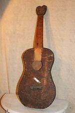 Getar Gutar Guitar SUPER Unique Hand Made Houston Tx Historic Rare vintage1800