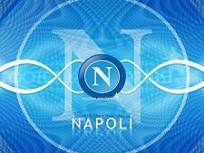 POSTER NAPOLI SSC MARADONA CAVANI HAMSIK INSIGNE SOCCER CALCIO FOOTBALL FOTO #4