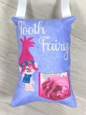 Tooth Fairy Pillow Troll Lost Tooth Pocket Birthday Christmas Gift