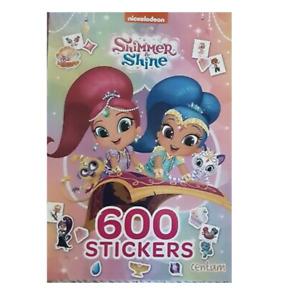 Nickelodeon Shimmer& Shine Sticker Book 600 Stickers Kids Activity Book 2019 NEW