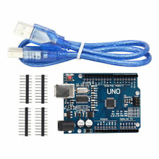 Arduino Uno R3 Rev3 ATMEGA328P Compatible Board FREE USB CABLE & Pins