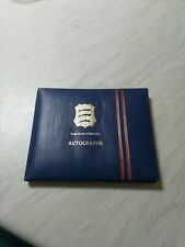 Cricket Autograph Book Signed By 15