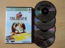 Final Fantasy VIII for Sony Playstation 1 - ps1 ps2 ps3 custom box