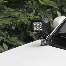 2pcs Hot Car Radio Station & Lights Auxiliary Mounting Brackets Holder Useful