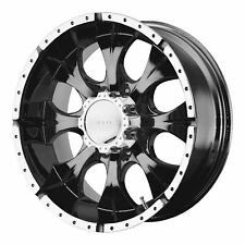 Helo 16x8 HE791 Maxx Wheel Gloss Black Machined 6x5.5 / 6x139.7 +0mm 4.50""