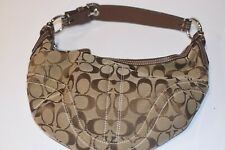Coach Small Brown Over Shoulder Purse