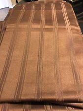 Brown Striped Curtain