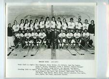 1972-73 HERSHEY BEARS AHL ORIGINAL TEAM ISSUE 8x10 HOCKEY PHOTOGRAPH / PHOTO
