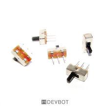 2, 5 ou 10 Interrupteur 2 positions 3 Pin 3,7 x 8,5 ON/OFF. Switch, DIY, Arduino