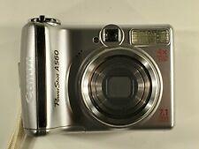 Canon PowerShot A560 7.1MP Digital Camera - Silver
