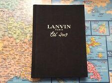 LANVIN PARIS Women's Fashion Show Summer 2009 Catalogue