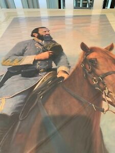 """TRIBUTE TO THE CAUSE""  General Stonewall Jackson,  HONG MIN Zou, 462/2000, COA"