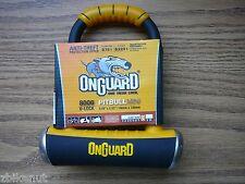 """OnGuard 8006 Pitbull Bicycle Mini U-Lock 3.5"""" x 5.5"""" Bike Frame Mount Heavy Duty"""
