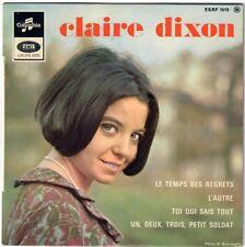 CLAIRE DIXON Le temps des regrets Petit soldat 1965 French 60s Yé-yé Girl EP