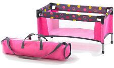 Bayer Chic 2000 Puppenreisebett mit Tasche (Funny Pink)