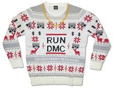 Run DMC-Logo-X-Large Ugly Christmas Sweater