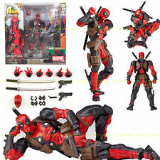Marvel Legends X-men DEADPOOL Action Figure Revoltech Kaiyodo Verison Toys Model